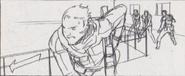 Leon vs. Chris storyboard 25