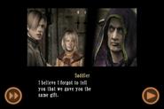 RE4 mobile edition - Rescue Ashley cutscene 5 part 13