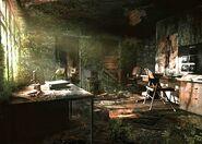 Resident Evil Outbreak Artwork Hospital Hopital Arklay Abandonned (5)