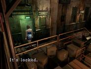 Resident Evil 3 Nemesis screenshot - Uptown - Warehouse examine 09