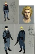 RE6 Jake concept art
