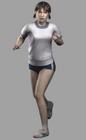 Resident evil outbreak yoko suzuki 3d ingame model alternate costume (2)
