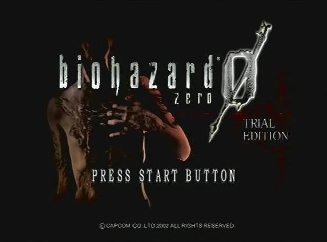 Biohazard 0 Trial Edition