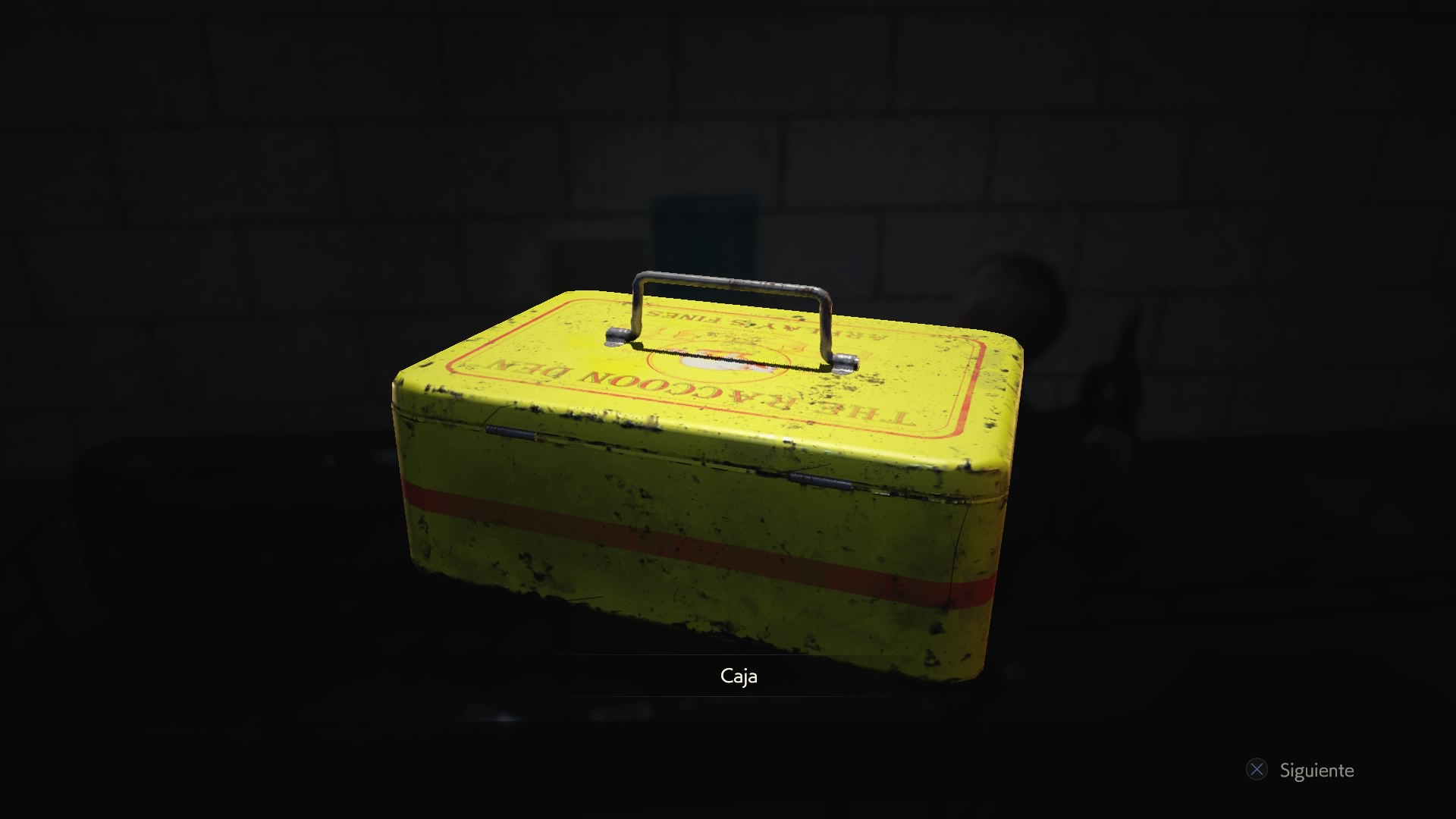 Caja de hojalata