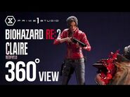Claire Redfield (Resident Evil 2) 360°View - Prime1Studio