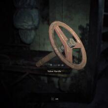 Resident Evil 7 Teaser Beginning Hour Valve Handle pick up.jpg