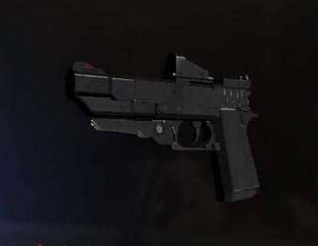 Handgun Triple Shot