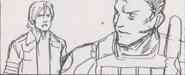 Leon vs. Chris storyboard 28