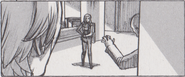 Resident Evil 6 storyboard - Tall Oaks Cathedral 13
