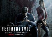 Resident Evil Infinite Darkness poster