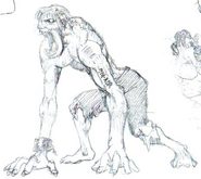 Early Licker concept art 2