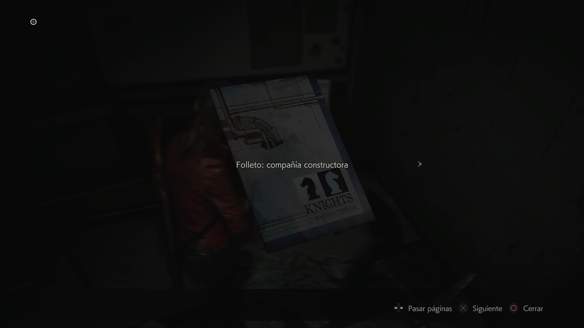 Folleto: compañía constructora