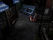 Resident Evil 3 background - Uptown - boulevard l2 - R11E0B