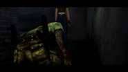 Resident Evil CODE Veronica - prisoner building bedroom - cutscenes 01-2