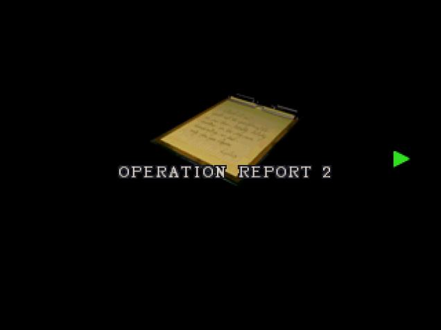 Operation report 2