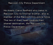 RE DC Raccoon City Police Department file page7