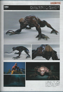 Biohazard DAMNATION Artbook 13