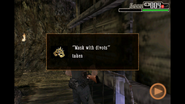 Resident Evil 4 iOS - Mask with Divots
