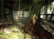 Resident Evil Outbreak Artwork Hospital Hopital Arklay Abandonned (7)