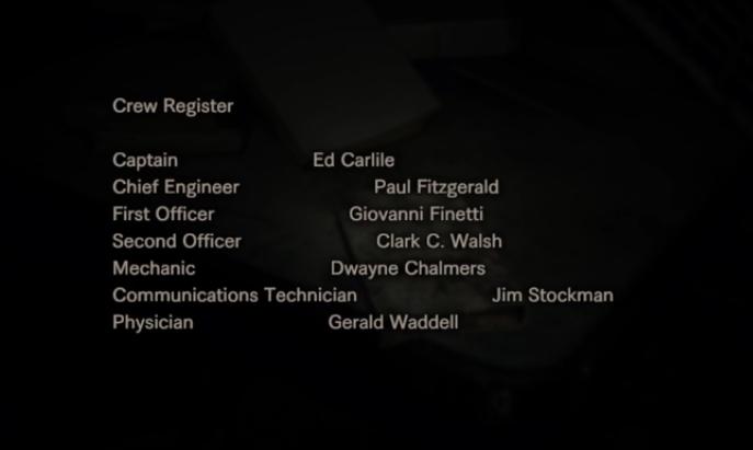 Crew Register