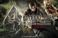 Resident Evil 4 Mobile Edition Light - start menu