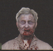 Degeneration Zombie face model 51