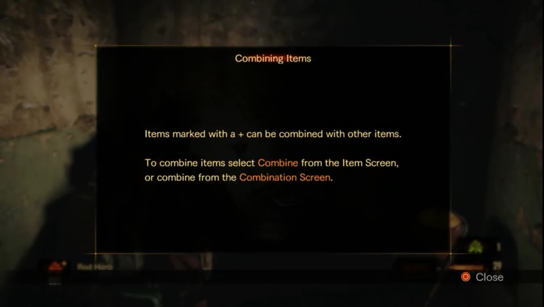 Combining Items (Revelations 2)