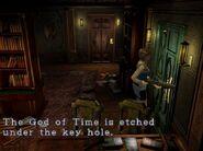 God of Time door