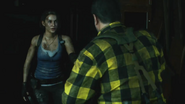 Kendo and Jill Resident Evil 3 remake
