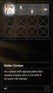 RESIDENT EVIL 7 biohazard Golden Crowbar inventory