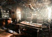 Resident Evil Outbreak Artwork Hospital Hopital Arklay Abandonned (3)