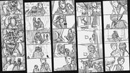 RE2 remake CONCEPT ART - Storyboards