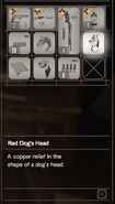 RESIDENT EVIL 7 biohazard Red Dog's Head inventory