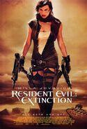 Resident Evil Extinction poster 2