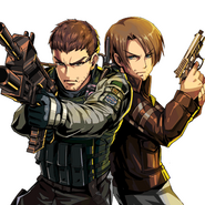 Chris & Leon RE6 Clan Master