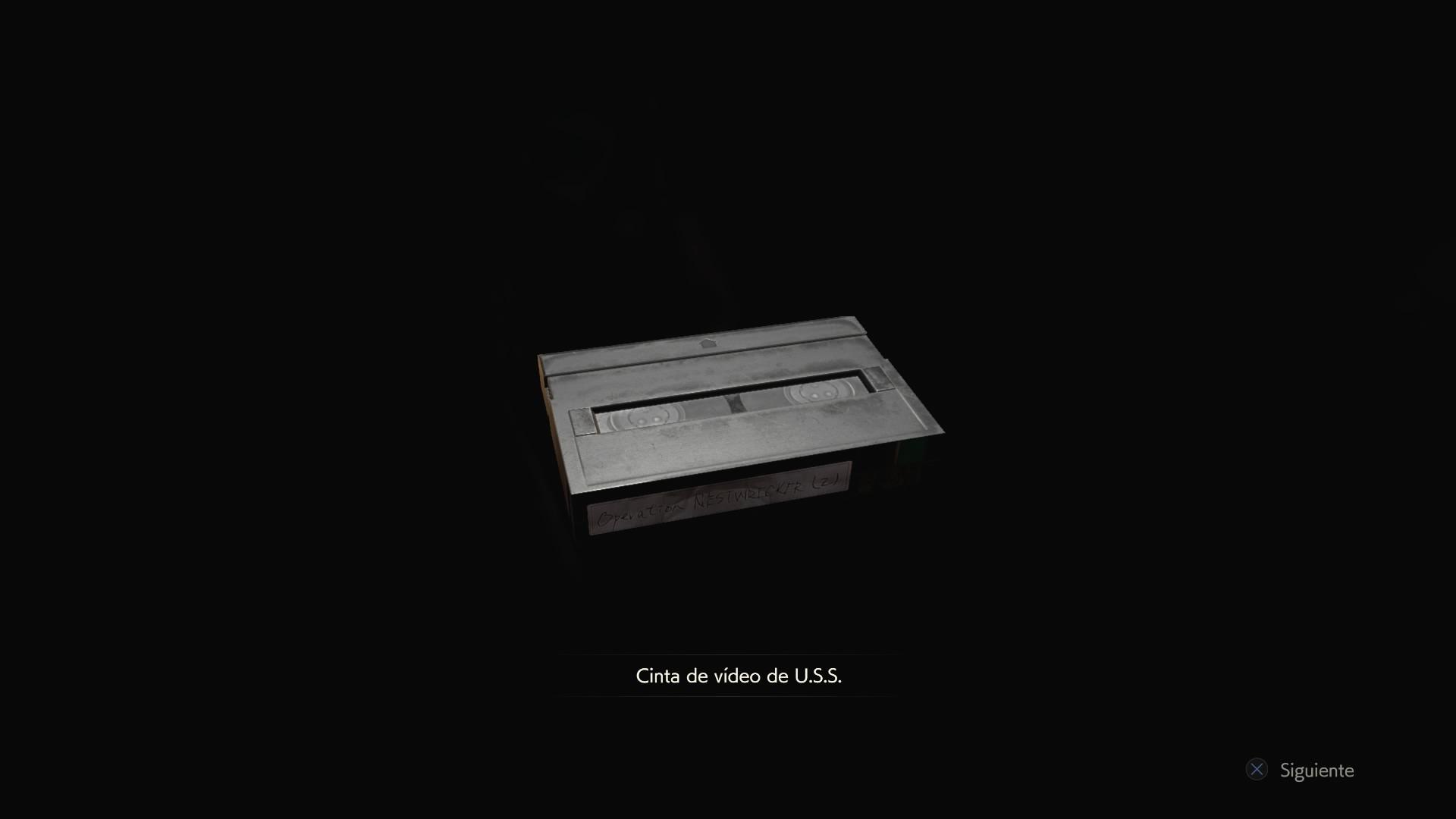 Cinta de vídeo de U.S.S.