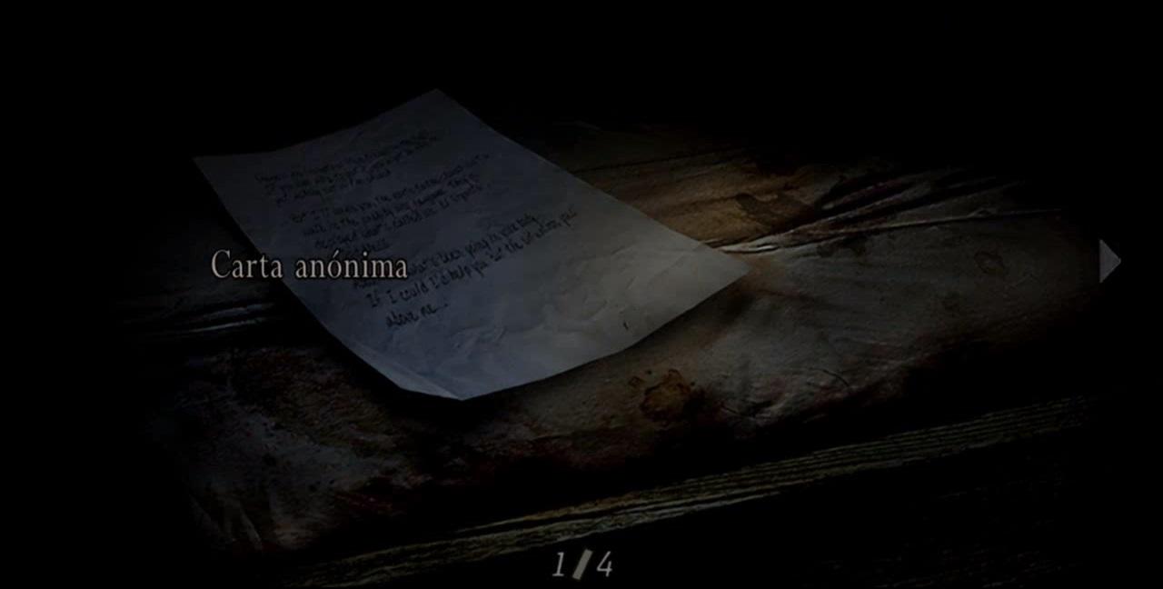 Carta anónima