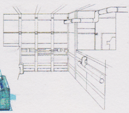 CODE Veronica concept art - B.O.W. storage room 10
