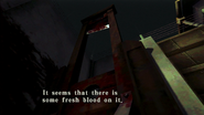 Resident Evil CODE Veronica - square in front of the guillotine - examines 08-2
