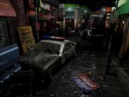 Resident Evil 3 background - Uptown - boulevard g2 - R11E06