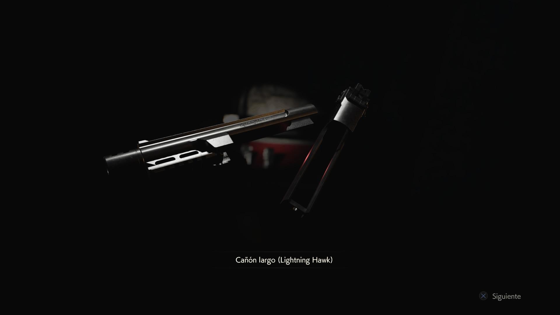 Cañón largo (Lightning Hawk)