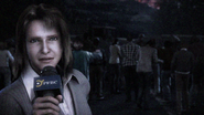 Degeneration - Airport newswoman outside Raccoon City
