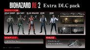 Biohazard RE-2 Extra DLC pack content