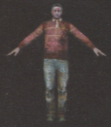 Degeneration Zombie body model 46