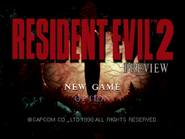 RE2 Preview 2 title