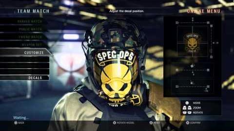 Umbrella Corps Mercenary Customization Trailer