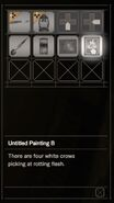 RESIDENT EVIL 7 biohazard Untitled Painting B inventory