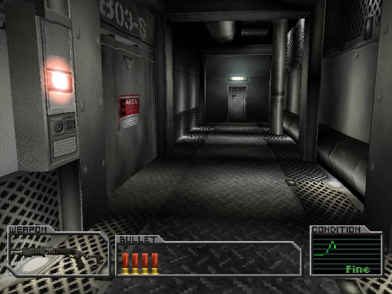 B3F shutter corridor