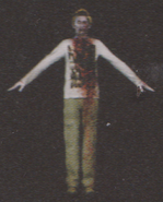 Degeneration Zombie body model 52