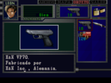 Armas de Resident Evil 2